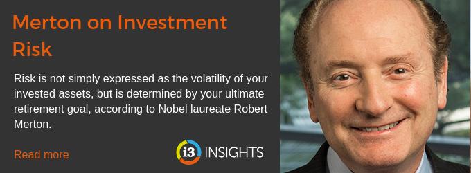 Merton on Investment Risk - Investment Innovation Institute