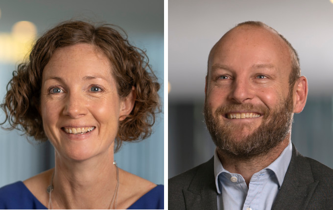 Rachel Harris (l) and Rick Stathers (r), Aviva Investors
